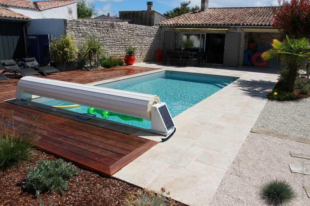 Am nagement de piscine paysagiste la rochelle ile de r - Amenagement terrasse piscine ...