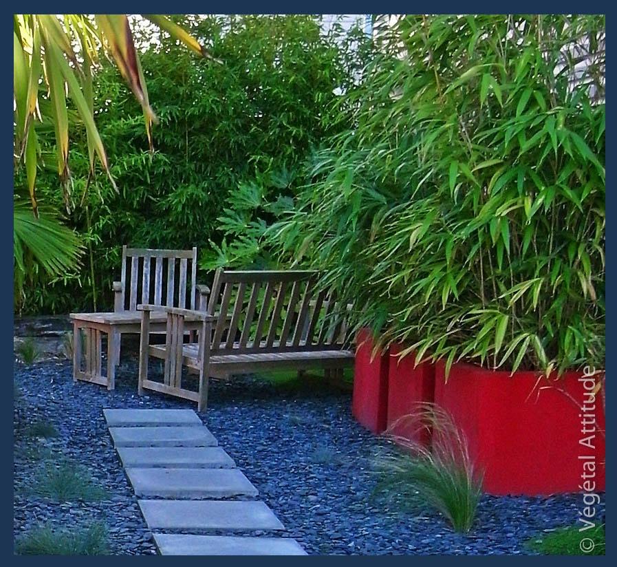 Allée jardin dalle carre ardoise