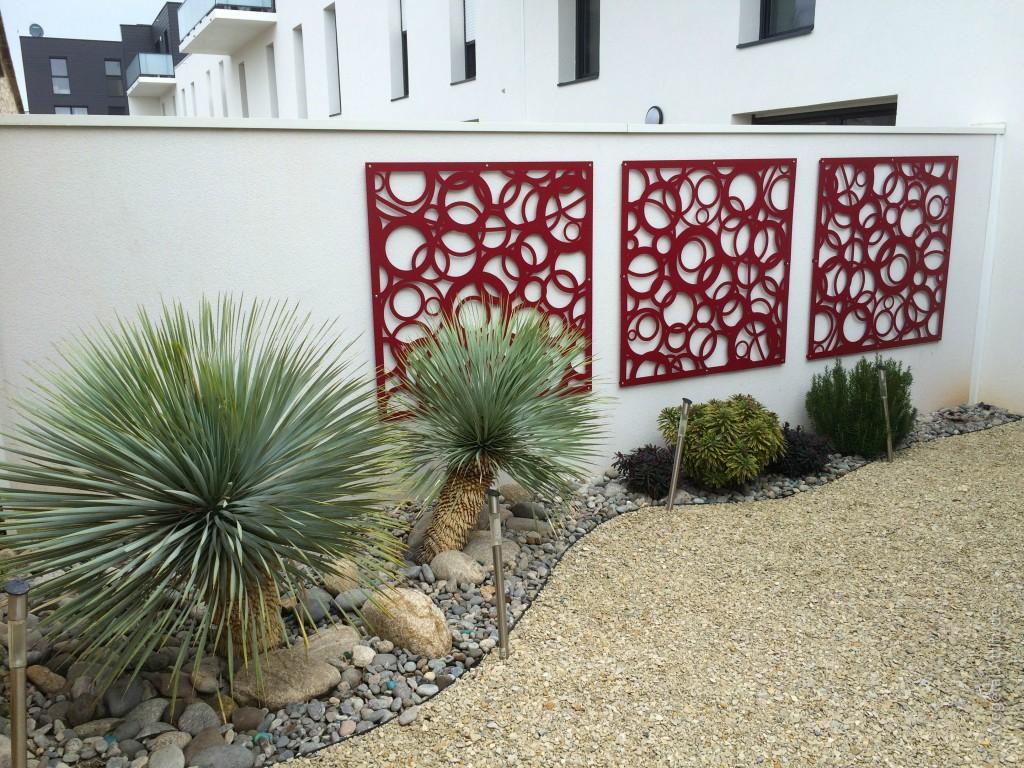 Métal treillis décoratif aluminium jardin