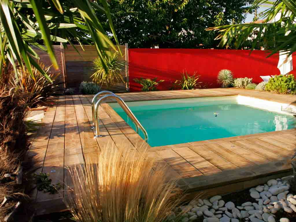 Croissant Aménagement de piscine - Paysagiste La Rochelle Ile de Ré PK-24